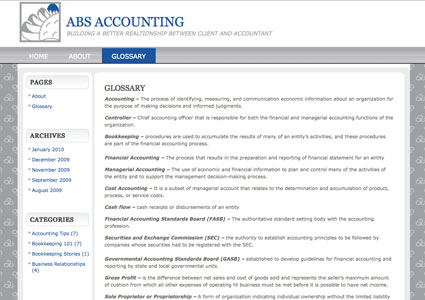ABSAccounting.info old version