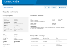 Provider Portal Hifi Mockup Patient Details