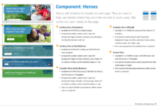 Public Site Hero Component Definitions